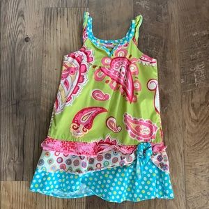 Size 5 girls jelly the pug dress